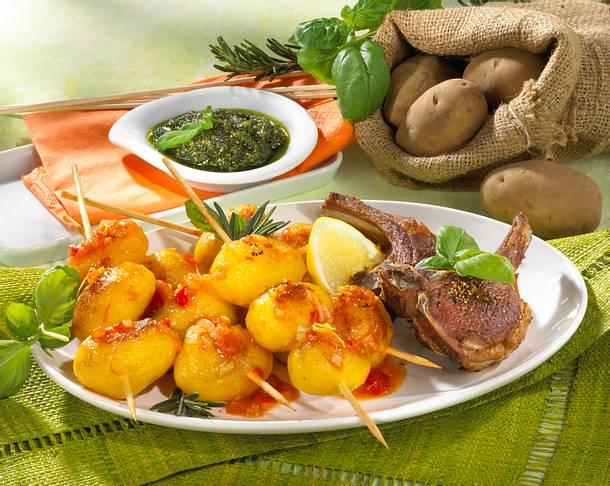 Kartoffel-Spieße Rezept