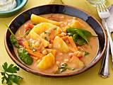 Kartoffel-Spinat-Gulasch Rezept