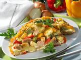 Kartoffel-Thunfisch-Omelett (Diabetiker) Rezept