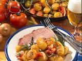 Kartoffel-Tomatenpfanne Rezept