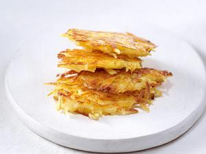 Kartoffelbeilagen aus rohen Kartoffeln: Kartoffelrösti Rezept