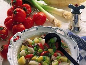 Kartoffeleintopf mit Tafelspitz Rezept