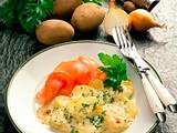 Kartoffelgratin mit Lachsschinken Rezept