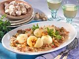 Kartoffelklöße mit Pilzgemüse Rezept