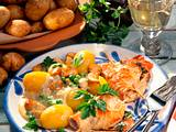 Kartoffeln in Gemüse-Béchamelsoße Rezept