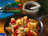Kartoffelpfanne mit Sesam Rezept