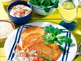 Kartoffelpuffer mit Tomatencreme Rezept