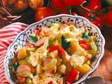 Kartoffelsalat mit Joghurt-Curry-Dressing Rezept