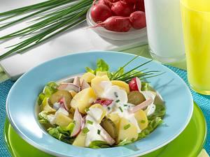Kartoffelsalat mit Joghurt-Dressing Rezept