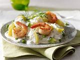 Kartoffelsalat mit Meerrettichschmand Rezept