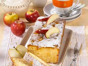 Kastenkuchen mit Äpfeln Rezept