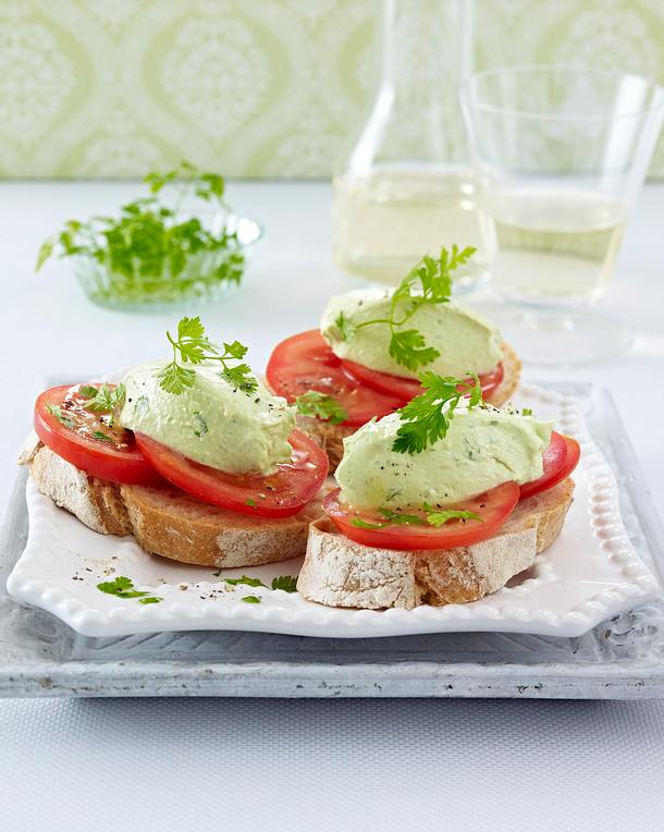 Kerbel-Avocado-Mousse Rezept
