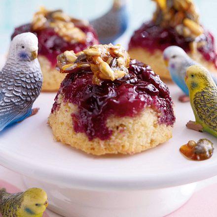 Kernige Kirsch-Muffins Rezept