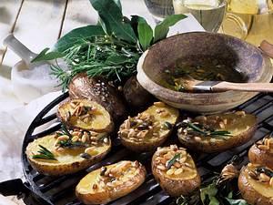 Kernige Kräuterkartoffeln Rezept