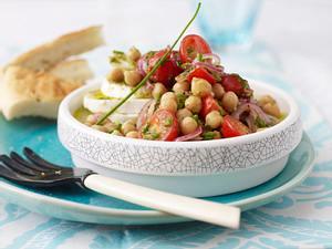 Kichererbsen-Salat mit Büffel-Mozzarella Rezept