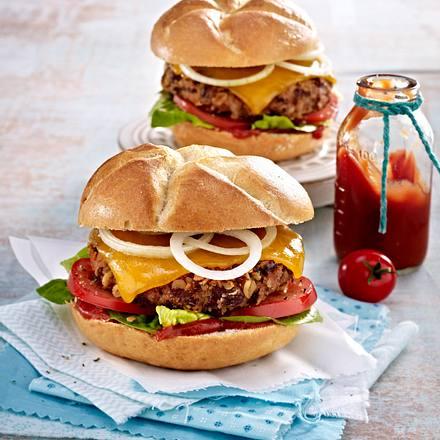 Kidneybohnen-Burger Rezept