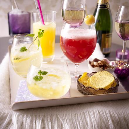 Kirsch-Apfel-Cocktail Rezept