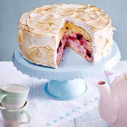 Kirsch-Baiser-Torte Rezept