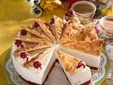 Kirsch-Fächer-Torte Rezept