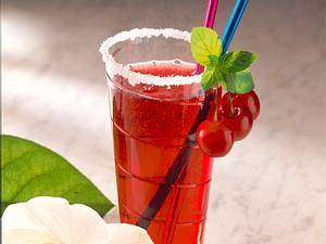 Kirsch-Light-Drink Rezept