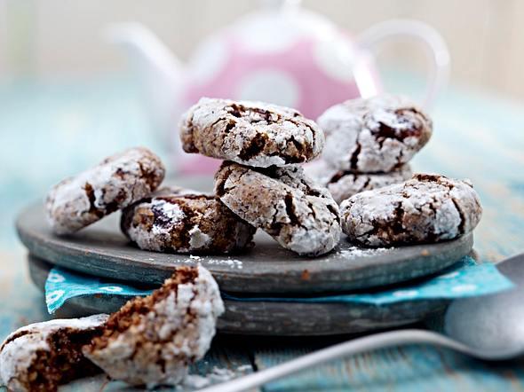 Kirsch-Mandel-Cookies Rezept