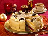 Kirsch-Mohn-Marzipan-Torte Rezept