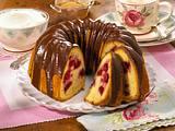Kirsch-Napfkuchen mit Schokoglasur (Diabetiker) Rezept
