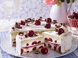 Kirsch-Prosecco-Torte Rezept