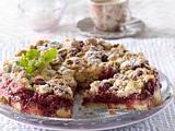 Kirsch-Streusel-Kuchen mit Amarettini Rezept