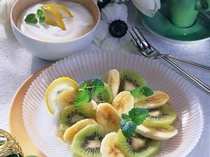 Kiwi-Bananen-Salat Rezept