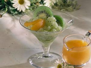 Kiwi-Cidre-Granitée Rezept