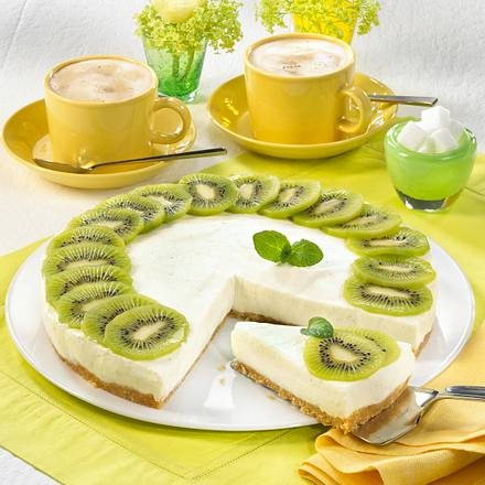 kiwi joghurt torte rezept lecker. Black Bedroom Furniture Sets. Home Design Ideas