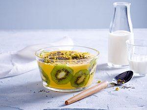Kiwi-Mango-Bowl Rezept