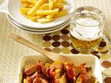 Klassische Currywurst Rezept