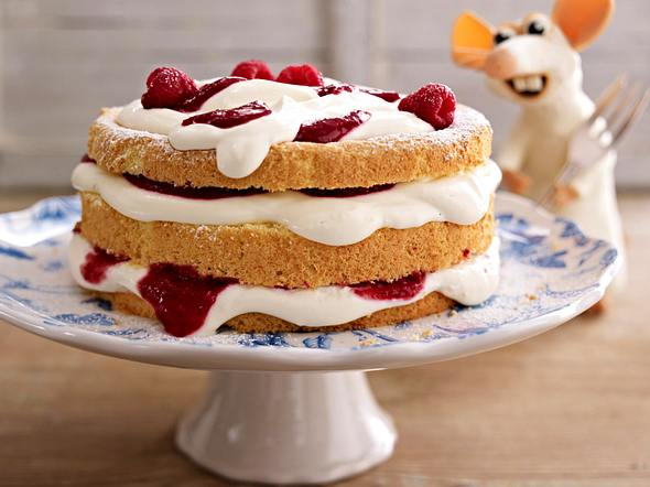 Kleine Käse-Himbeer-Torte Rezept