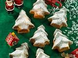 Kleine Lebkuchen-Tannenbäume Rezept