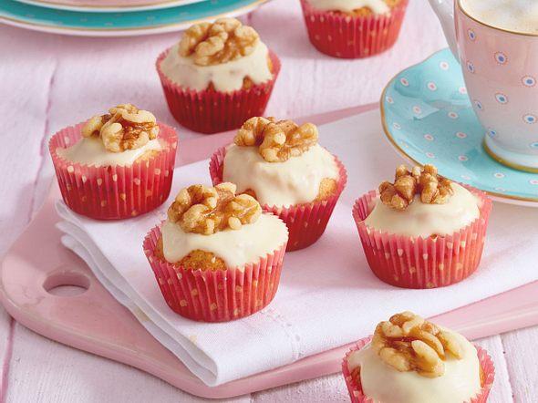 Kleine Muffins mit Walnuss Rezept