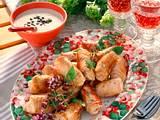 Kleine Rouladen mit Thunfisch-Kapern-Soße Rezept