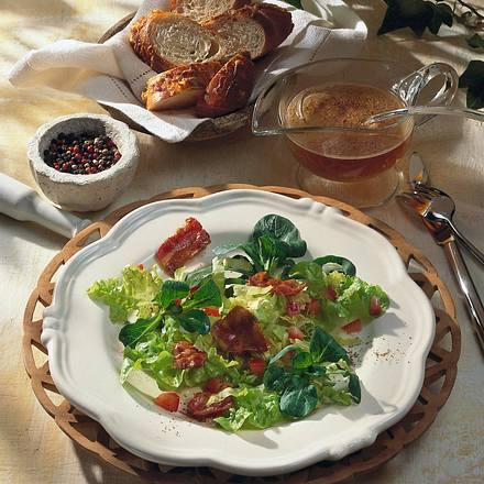 Kleiner Salatteller Rezept