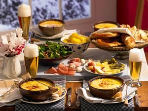Kleines bayrisches Käsefondue Rezept