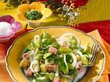 Knackiger Salat mit Fleischwurst Rezept