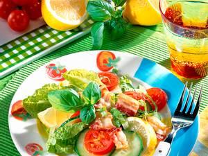 Knackiger Salatteller Rezept