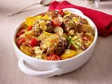 Knoblauchkartoffel-Frikadellen-Gratin Rezept
