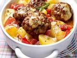 Knoblauchkartoffel-Frikadellen-Gratin (Variante) Rezept