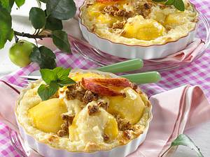 Knusper-Äpfel im Milchreis-Bett Rezept