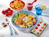 Knusper Schnitzel zu Nudelsalat Rezept