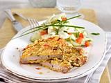 Knusperschnitzel und Kartoffelsalat Rezept