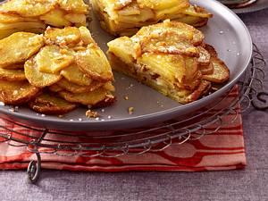 Knusprige Kartoffeltorte mit Apfelchutney  Rezept