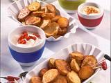 Knusprige Ofen-Chips mit Dips Rezept