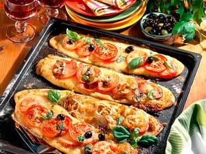 Knusprige Pizza-Stangen Rezept